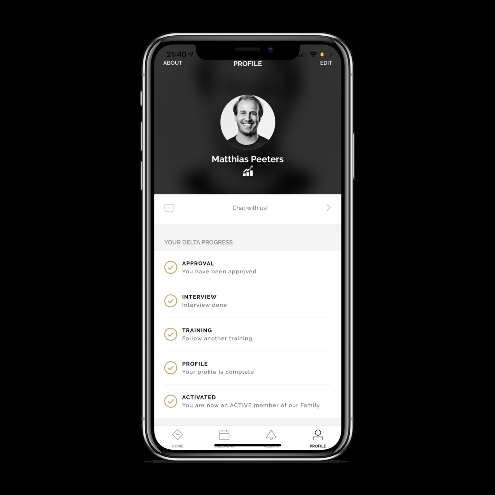 Deltaworx app